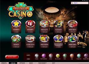 Nostalgia Casino Lobby