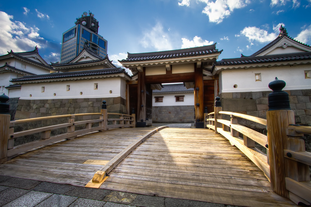 Entrace to Sunpu Castle