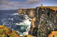 Marwick Head (Tony Shertila) Tags: sea sky birds scotland orkney memorial europe day cloudy britain cliffs hdr ohhh headland digitalcameraclub marwickhead lordkitchener platinumheartaward
