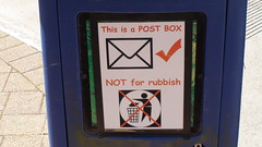 This is a POST BOX