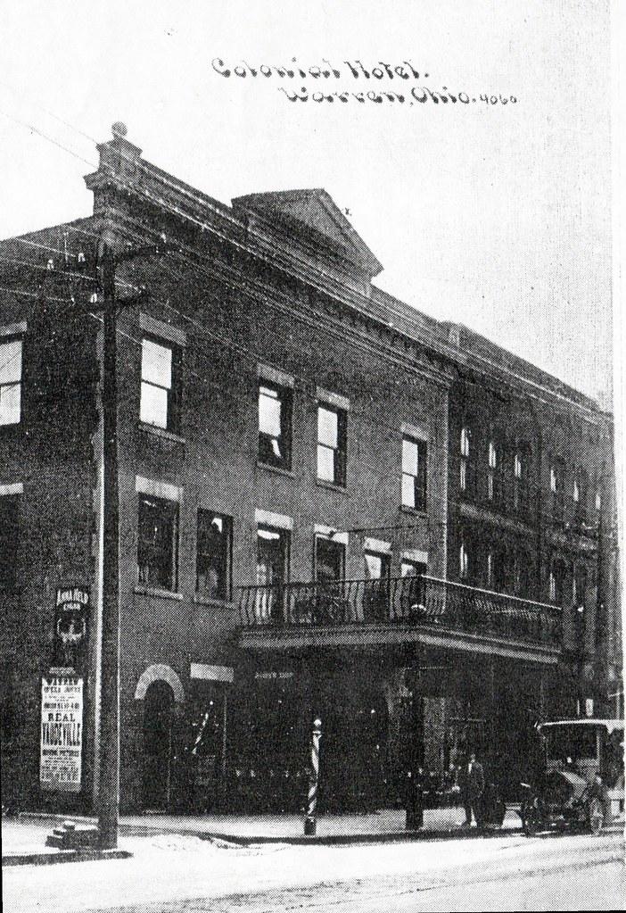 Warren Hotel (as Colonial Hotel), Warren, Ohio, circa 1920