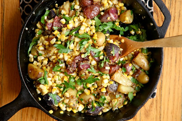 Sweet Corn Hash and other Dad-friendly Foods