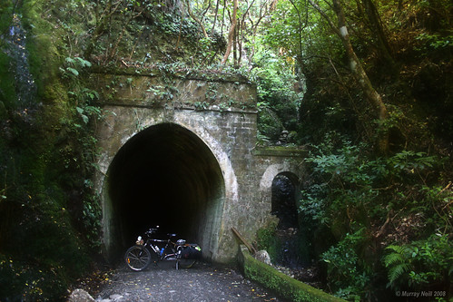 Rimutaka Rail Trail Tunnel