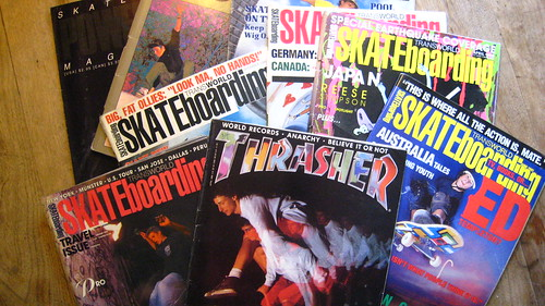 Skateboard mags from the early 90's