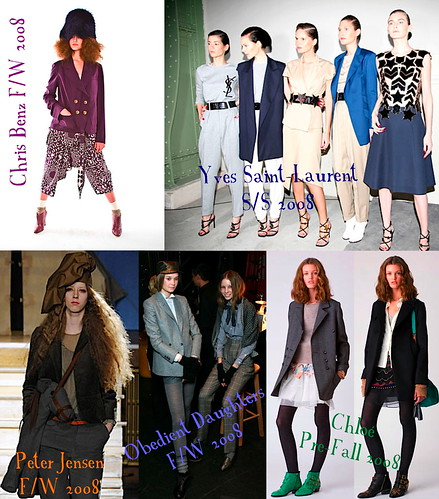 oversize jacket [inspiration] collage