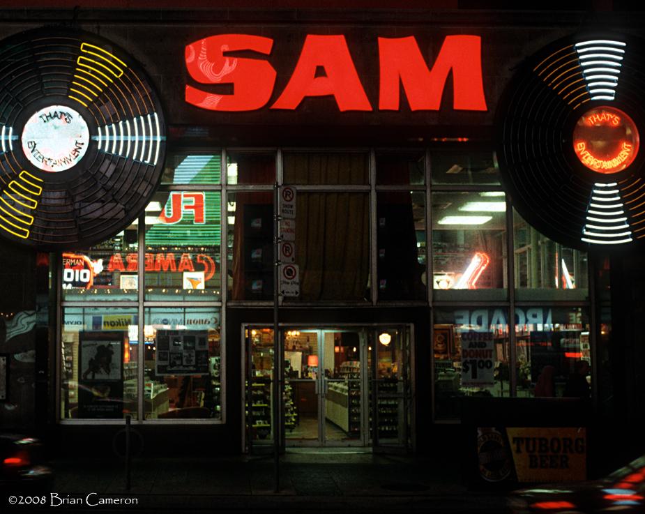 Sam's circa 2003, part 1