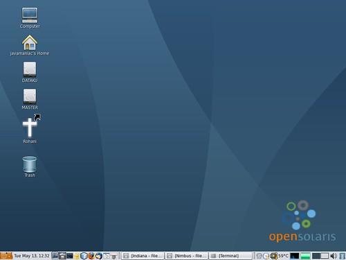 OpenSolarisCleanDesktop
