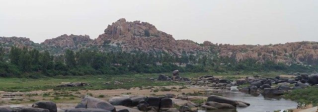 Tungabhadra and the Boulders
