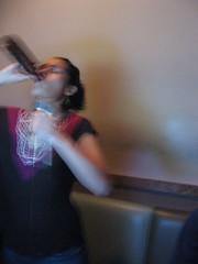 drinking & singing!