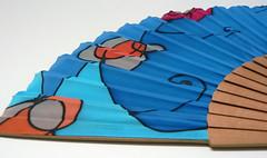 Silk Hand Fan (gilbea) Tags: fan silk seda handfan abanico foldingfan