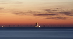 Windmills (andrew.stuart1) Tags: sea beach sunrise wow seaside amazing nice peaceful calm llandudno conwy northwales 9thjune gregjames 090608 domisanidiot gregjamesearlybreakfast addsometagsformetosee
