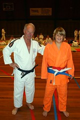 Training tijdens EK 2008 ( Judoclub Middelharnis ) Tags: orange judo color training colored ek em 2008 gi oranje ec middelharnis judoclub judogi judopak