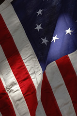 Betsy Ross flag close-up 2