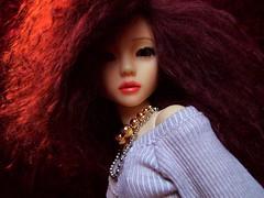 Crushed Velvet 13 (ranmanekineko) Tags: velvet wig bjd dollfie fashiondoll msd furwig narae crushedvelvet narindoll mohairwig nerilka japanesefashiondoll mogair japanesegirldoll