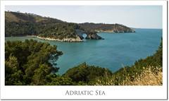 Adriatic Sea (M.Jacob) Tags: ocean road italy holiday beach coast europe mare south winding matera almalfi