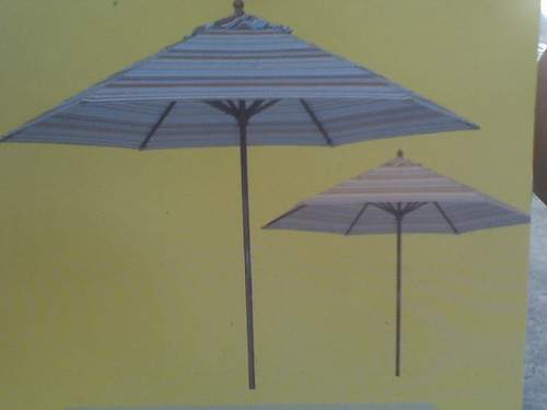 PATIO TABLE UMBRELLAS $35/EACH