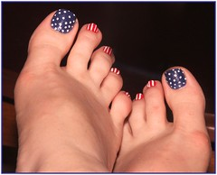 project 366 June 5 (tammye*) Tags: blue red white game feet foot toes toe painted hero winner pedicure 365 strips redwhiteblue pokadots june5 366 gamewinner 157365 favescontestwinner beginnerdigitalphotographychallengeswinner beginnerdigitalphotographychallengewinner thechallengefactory bdpc 157366