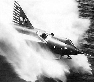 Warbird picture - F2Y Sea_Dart 2