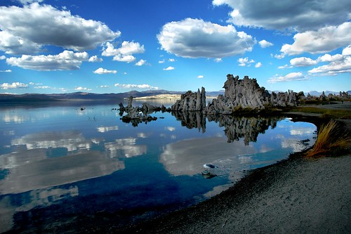Mono Lake and Clouds 1
