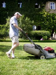 Big Garden Small Lawn Mower