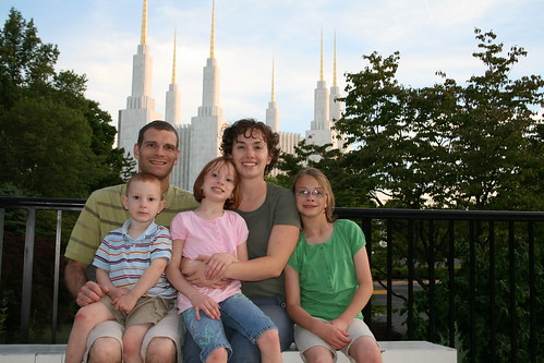 Our Family at the Temple