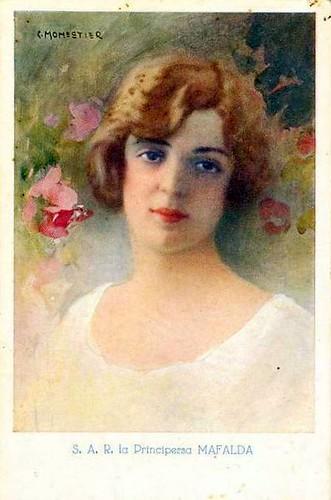 Princess Mafalda of Savoy, Landgravine of Hesse (1902-1944) 2633580049_9e8c3bfbf3