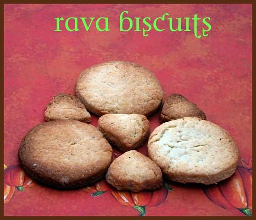 Rava Biscuits