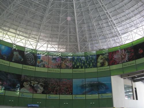 Manila Oceanarium Dome.