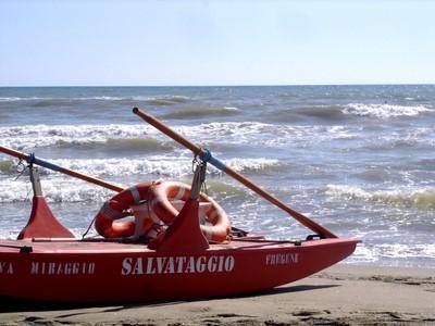 fregene rescue boat