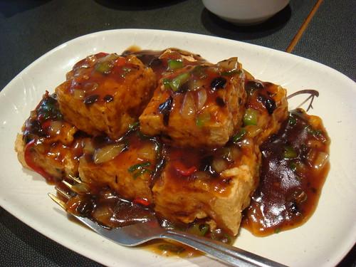 Tofu in Black Bean