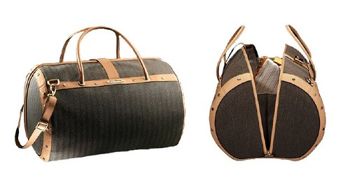 samsonite black label vintage travel duffel