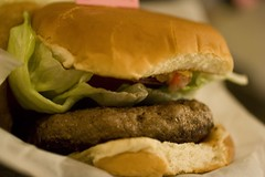 Lamb Merguez Burger