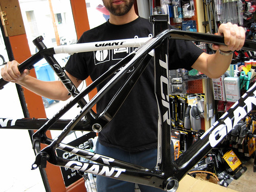 2009 Giant TCR and XTC frames