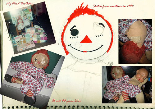 raggedy ann collage