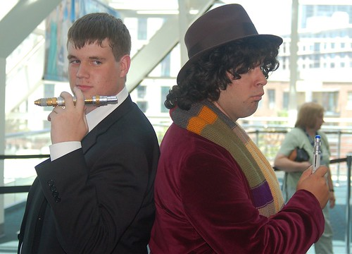 Comic Con 2008: The Master and the Doctor