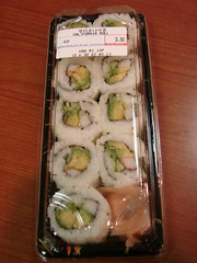 Wait...Didn't the California Roll Used to Have 10 pieces?