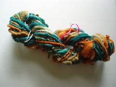 Patti's first yarn