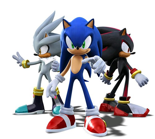 sonic silver and shadow