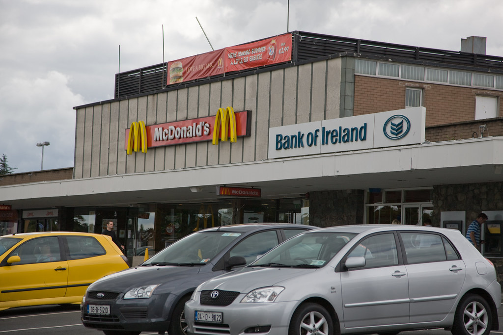 Stillorgan shopping Centre (one of the first outside the USA)