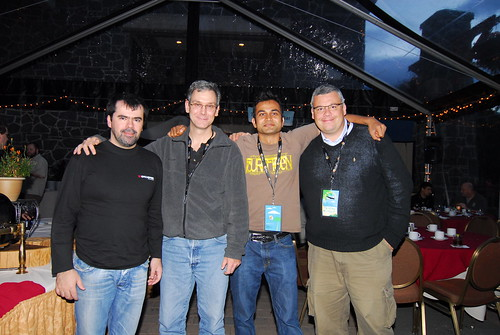 Marcio, Bob, Arun & Tristan
