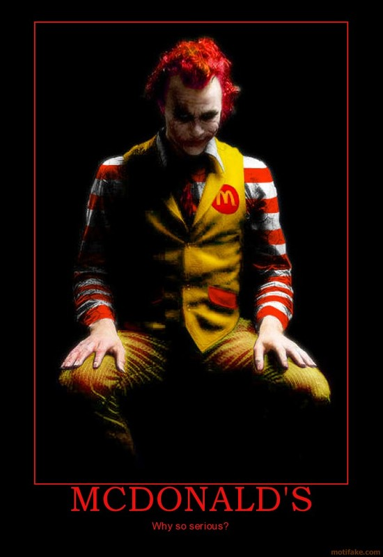 Joker Mc Donalds