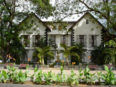 The Court of Justice in Victoria on the island of Mahe (Seychelles)