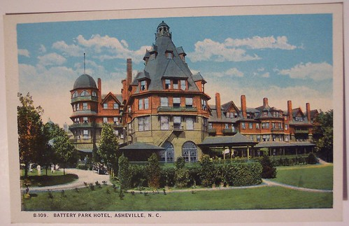 Vintage Postcard, Battery Park Hotel, Asheville, North Carolina