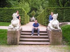 castle gardens (aimeemcandrews) Tags: heidelberg christophe dunja