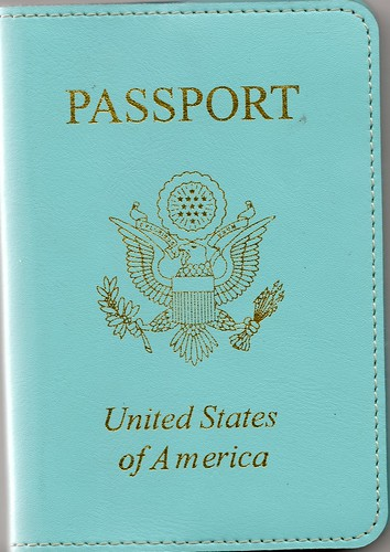 Passport cover.