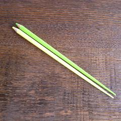 色鉛筆風のお箸