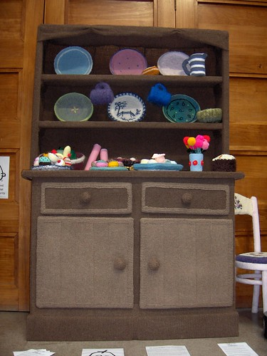Its all knitted, even the furniture!