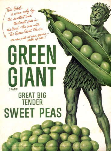 Green Giant Peas- 1955 (by senses working overtime)