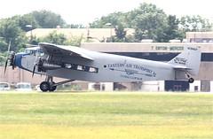 N8407-2a (PHLAIRLINE.COM) Tags: ford plane aviation flight airline planes eaa trenton bizjet ttn trimotor 4ate trentonmercerairport