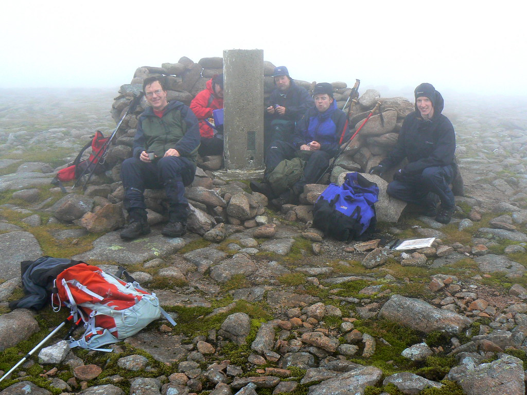 Summit of Beinn Bhrotain